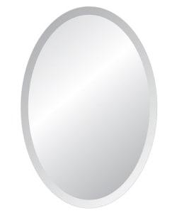 Rund spegel rusta