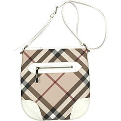 Burberry 'Dryden' Canvas Messenger Bag