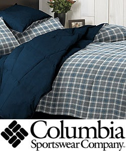 Columbia Cabin Plaid 3-piece Down Alternative Comforter and Sham Set