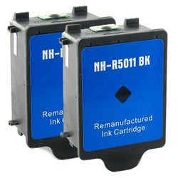 HP 14 2-piece Black Ink Cartridge Combo (Remanufactured)
