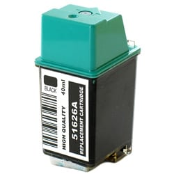 HP 26 Compatible Black Inkjet Cartridge (Remanufactured)