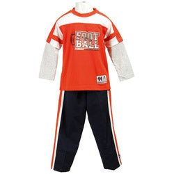 Russell Athletic Boy's Orange Mesh Track Suit