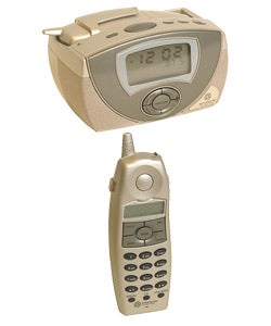 Southwestern Bell Cordless Phone with Clock Radio
