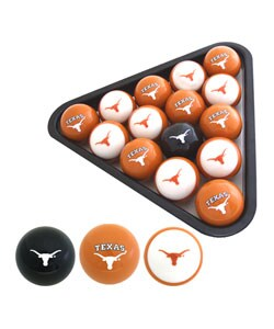 University of Texas Longhorns Billiard Balls