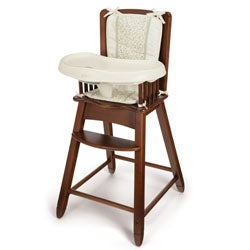 Safety First Vineland Solid Wood High Chair