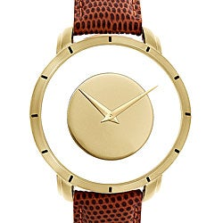 Akribos XXIV Spacely Unisex Quartz Gold Round Watch