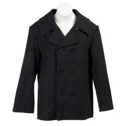 Nicky Jay Boy's Wool-blend Peacoat
