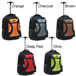 CalPak Vega 18-inch Rolling Laptop Backpack