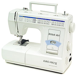 Euro pro stitch art model 8660 sewing machine 11520217 for Euro pro craft n sew