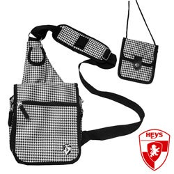 Heys USA Exotic Houndstooth TravelMate Sling Bag