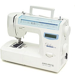 Euro pro deluxe 64 stitch lcd sewing machine overstock for Euro pro craft n sew