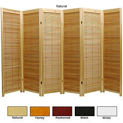 Wooden 6-foot 6-panel Marupa Room Divider (China)