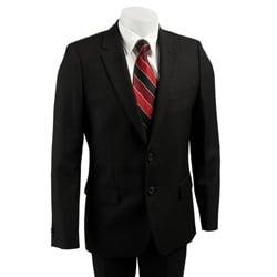 hugo boss red label men 39 s black suit 11525098. Black Bedroom Furniture Sets. Home Design Ideas