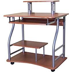 Contemporary Walnut Computer Desk