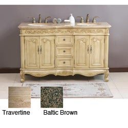 Tarabella 58 Inch Double Sink Bathroom Vanity 11527625 Shopping Great Deals