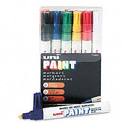 Uni-Paint Oil-based Paint Marker (Pack of 12)
