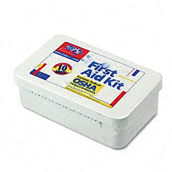 ANSI-compliant First Aid Kit with 10 Units