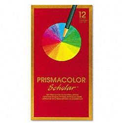 Prismacolor Scholar Colored Pencil Set (Pack of 12)