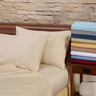 Egyptian Cotton 1000 Thread Count Olympic Queen Deep Pocket Sheet Set