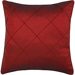 Decorative Diamond Burgundy Red Cushion Cover