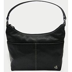 Ralph Lauren Winchester Leather Medium Hobo Bag