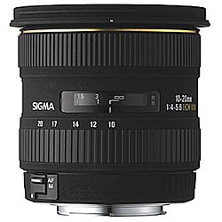 Sigma 10-20mm F/4-5.6 EX DC HSM Lens for Nikon