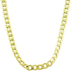 Fremada 14k Yellow Gold Curb Chain (18-24 inches)