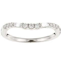 14k White Gold 1/4ct TDW Diamond Wedding Band (G-H, I1)