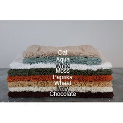 Egyptian Cotton Non-slip 18 x 25 Bath Rug