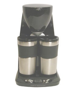 Cooks Essentials 2-Mug Coffee Maker with Timer (Refurbished) - 1154406 - Overstock.com Shopping ...