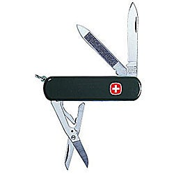 Swiss Army 7-tool Black Esquire Knife