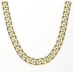 Simon Frank 14k Gold Overlay 42-inch Cuban Necklace