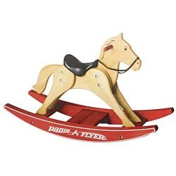 Radio Flyer Classic Wood Rocking Horse