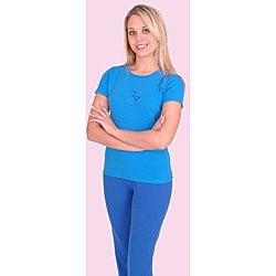 Yogacara Women's Chakra #6 Third Eye T-shirt