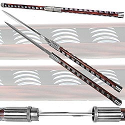 Steel Titan Twin-blade Baton Sword