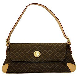 Rioni Signature Flap Shoulder Bag