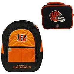 Cincinnati Bengals Backpack/ Lunchbox Combo