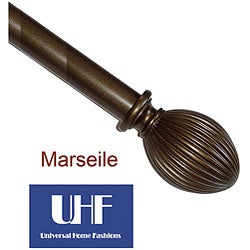 Marseille 84 to 144-inch Telescoping Curtain Rod