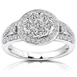 14k Gold 4/5ct TDW Diamond Engagement Ring (G-H, I1-I2)