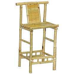 Set of 2 Bamboo Barstools (Vietnam)