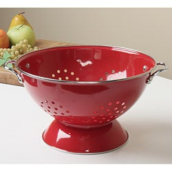 Reston Lloyd Calypso Basics 5-quart Red Colander