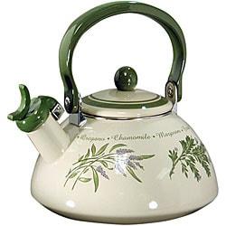 Corelle Thymeless Herbs Whistling Teakettle