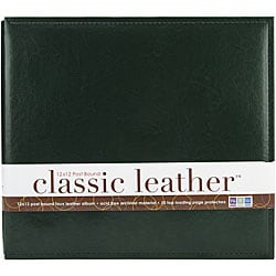 We R Classic 12x12 Forest Green Postbound Album