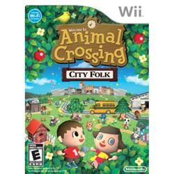 Wii - Animal Crossing City Folk