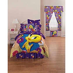 Tweety Bird Rainbow Full Sheet Set Overstock Shopping Great