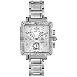 Invicta Women's Steel Chronograph Diamond Watch