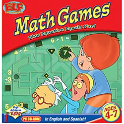 Early Learning Fun 'Math Games' Software