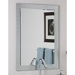 Frameless Disco Wall Mirror