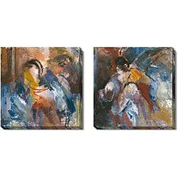 Caroline Ashton 'Visualize' Gallery-wrapped Art Set