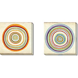 Benjamin Arnot 'Speed of Light' Gallery-wrapped Art Set
